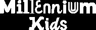 Millennium Kids white logo