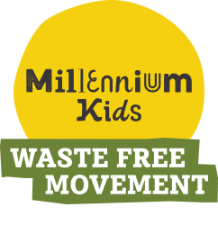 Millennium Kids Waste Free Movement Logo