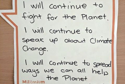 Having a say about climate change